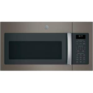 """GE JVM6175EKES 30"""" Over-the-Range Microwave Oven with 1.7 cu. ft. Capacity  Two-speed 300-CFM Venting fan system  Sensor cooking controls  Weight and"""