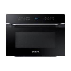 """Samsung MC12J8035CT 21"""" Countertop Convection Microwave with 1.2 cu. ft. Capacity  Powergrill Duo & Slum Fry Technology  Ceramic Enamel Interior and Glass"""