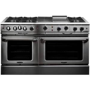 """Capital CGSR604BG2N 60"""" Culinarian Series Freestanding Natural Gas Range with 8 cu. ft. Total Oven Capacity  12"""" Griddle  12"""" Grill  and 6 Burners  in"""