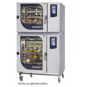 Blodgett BLCT62102G Double Stack Gas Boilerless Combination-Oven/Steamer with Touchscreen Control  Multiple modes  Self cleaning system. Capacity: 13 sheet