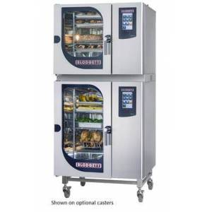 Blodgett BLCT61101E Double Stack Electric Boilerless Combination-Oven/Steamer with Touchscreen Control  Multiple modes  Self cleaning system. Capacity: 13