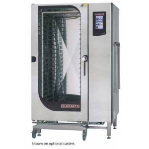 Blodgett BLCT202G Roll-in Gas Boilerless Combination-Oven Steamer with Touchscreen Control  Multiple modes  Self cleaning system. Capacity: 15 sheet pans or