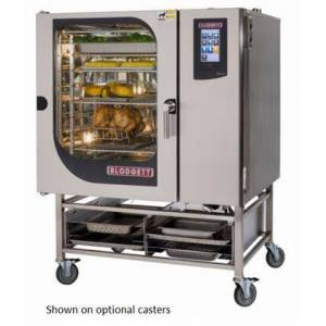 Blodgett BLCT102G Single Gas Boilerless Combination-Oven Steamer with Touchscreen Control  Multiple modes  Self cleaning system. Capacity: 8 sheet pans or 16