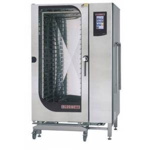 Blodgett BLCT202E Roll-In Electric Boilerless Combination Oven/Steamer with Touchscreen Control  Multiple cooking modes and Self cleaning system. Capacity: 15