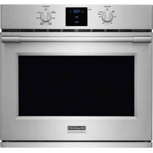"""Frigidaire Professional FPEW3077RF 30"""" ADA Compliant  Star K Electric Wall Oven with 5.1 cu. ft. Capacity  PowerPlus Convection  Temperature Probe  PowerGlide Rack and"""