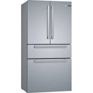 """Bosch B36CL80SNS 36"""" 800 Series French Door Refrigerator with 20.5 cu. ft. Capacity  FarmFresh System  VitaFreshPro  LED Lighting and MultiAirFlow  5 Glass"""