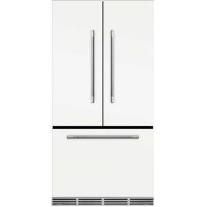 """AGA MMCFDR23WHT 36"""" Mercury  Counter Depth French Door Refrigerator With Storage Drawer  22.2 cu. ft. total capacity  12 Temperature Settings  Adjustable"""