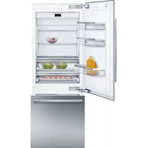 """Bosch B30BB935SS 30"""" Smart Bottom Freezer Refrigerator with 16 cu. ft. Capacity  Energy Star Qualified  LED Lighting and MultiAirflow in Stainless"""
