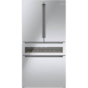 """B36CL81ENG 36"""" 800 Series Smart Counter-Depth 4-Door Refrigerator with 20.5 cu. ft. Total Capacity  Refreshment Center  Energy Star  Home Connect"""