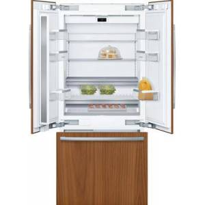 """Bosch B36IT905NP 36"""" Smart Built-In French Door Refrigerator with 19.4 cu. ft. Total Capacity  Home Connect  LED Lighting and MultiAirFlow in Panel"""