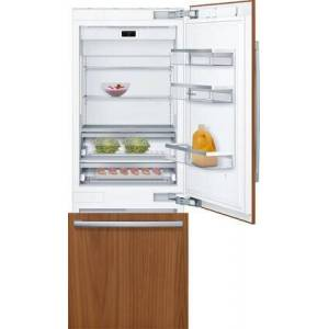 """Bosch B30IB905SP 30"""" Smart Bottom Freezer Refrigerator with 16 cu. ft. Capacity  Energy Star Qualified  LED Lighting and MultiAirflow in Panel"""