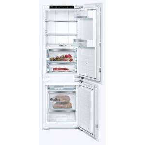 """Bosch B09IB91NSP 24"""" Panel Ready Smart Built-In Bottom Freezer Refrigerator with 8.3 cu. ft. Total Capacity  VitaFreshPro Drawer and LED"""