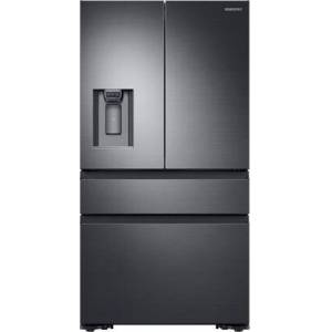 """Samsung RF23M8070SG 36"""" Counter-Depth French Door Refrigerator with 22.7 cu. ft. Capacity  FlexZone  Exernal Ice and Water Dispenser  and Auto Water Fill  in"""