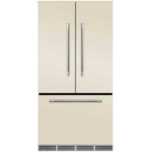 """AGA MMCFDR23IVY 36"""" Mercury  Counter Depth French Door Refrigerator With Storage Drawer  22.2 cu. ft. total capacity  12 Temperature Settings  Adjustable"""