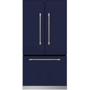 """AGA MMCFDR23-BLB 36"""" Mercury  Counter Depth French Door Refrigerator With Storage Drawer  22.2 cu. ft. total capacity  12 Temperature Settings"""