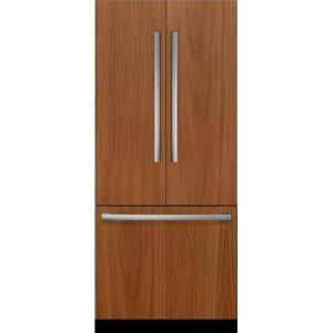 """B36IT900NP 36"""" Benchmark  Built-In French Door Refrigerator with Home Connect Wi-Fi  19.4 cu. ft. Total Capacity  Dual Evaporators  Bottom Freezer"""