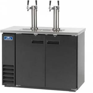 """Arctic ADD48R-2 49"""" Direct Drawer Beer Refrigerator with Two Towers  LED Lighting  Electronic Thermostat and CFC Free Refrigerant in"""