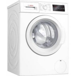 """Bosch WAT28400UC 24"""" 300 Series Compact Washer with 2.2 cu. ft. Capacity  15 Programs  1400 RPM  SpeedPerfect Option  Stainless Steel Drum  EcoSilence"""