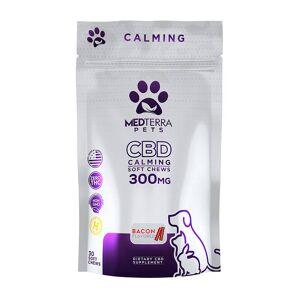 Medterra - CBD Pet Edible - Bacon Calming Soft Chews - 300mg