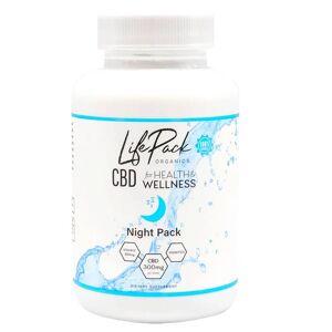 Life Pack Organics - CBD Capsules - Night Pack Sleep Aid Caps - 300mg