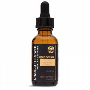 Charlotte's Web Charlottes Web - CBD Tincture - Original Formula Olive Oil (Natural) - 50mg/1mL
