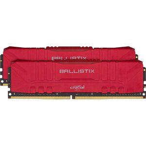 Crucial 32GB Crucial Ballistix 2666MHz PC4-21300 CL16 1.2V DDR4 Dual Memory Kit (2 x 16GB) - Red