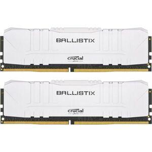 Crucial 32GB Crucial Ballistix 3000MHz PC4-24000 CL15 1.35V DDR4 Dual Memory Kit (2 x 16GB)- White