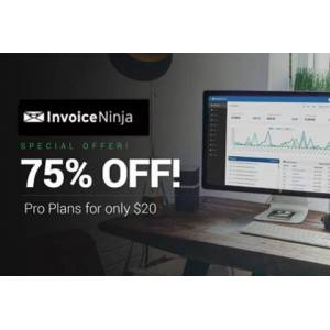 DealFuel Invoice Ninja - An Open Source Invoice System @70% OFF / 1 Year Plan