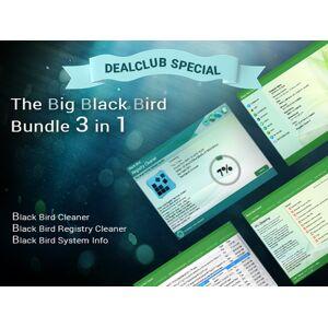 DealFuel Clean Up & Fasten Your PC With Big Black Bird 3-in-1 Bundle / Lifetime