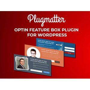 Plugmatter Optin Feature Box Plugin for WordPress Website / 1-Year Plan