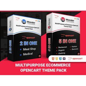 Wonder – Multipurpose Ecommerce OpenCart Themes Pack / Lifetime Access