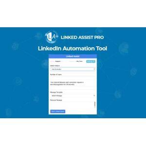 Linked Assist Pro – LinkedIn Automation Tool