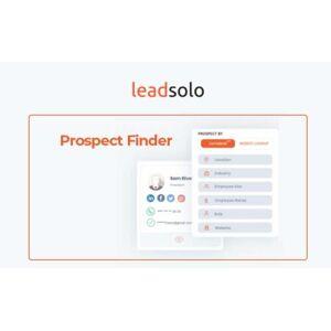 DealFuel Leadsolo Prospect Finder For New Businesses- Enterprise Plan