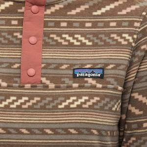 Patagonia Micro D Snap-T Pullover  Furry Taupe