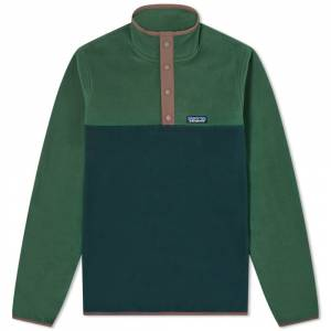 Patagonia Micro D Snap-T Pullover  Northern Green