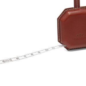 A.P.C. Ambre Tape Measure  Noisette