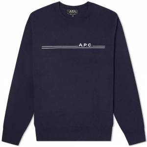 A.P.C. A.P.C Eponyme Sweater  Dark Navy