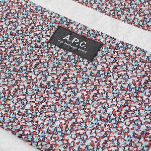 A.P.C. Diane Liberty Print Shopper  Red