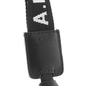 A.P.C. Logo Key Lanyard  Black & White