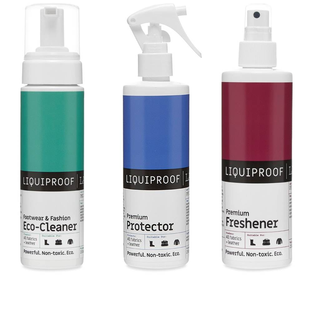 Liquiproof Labs Footwear & Fashion Complete Care Kit  250ml