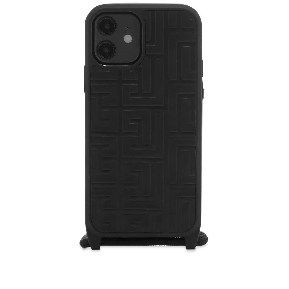 Balmain iPhone Case 12  Noir