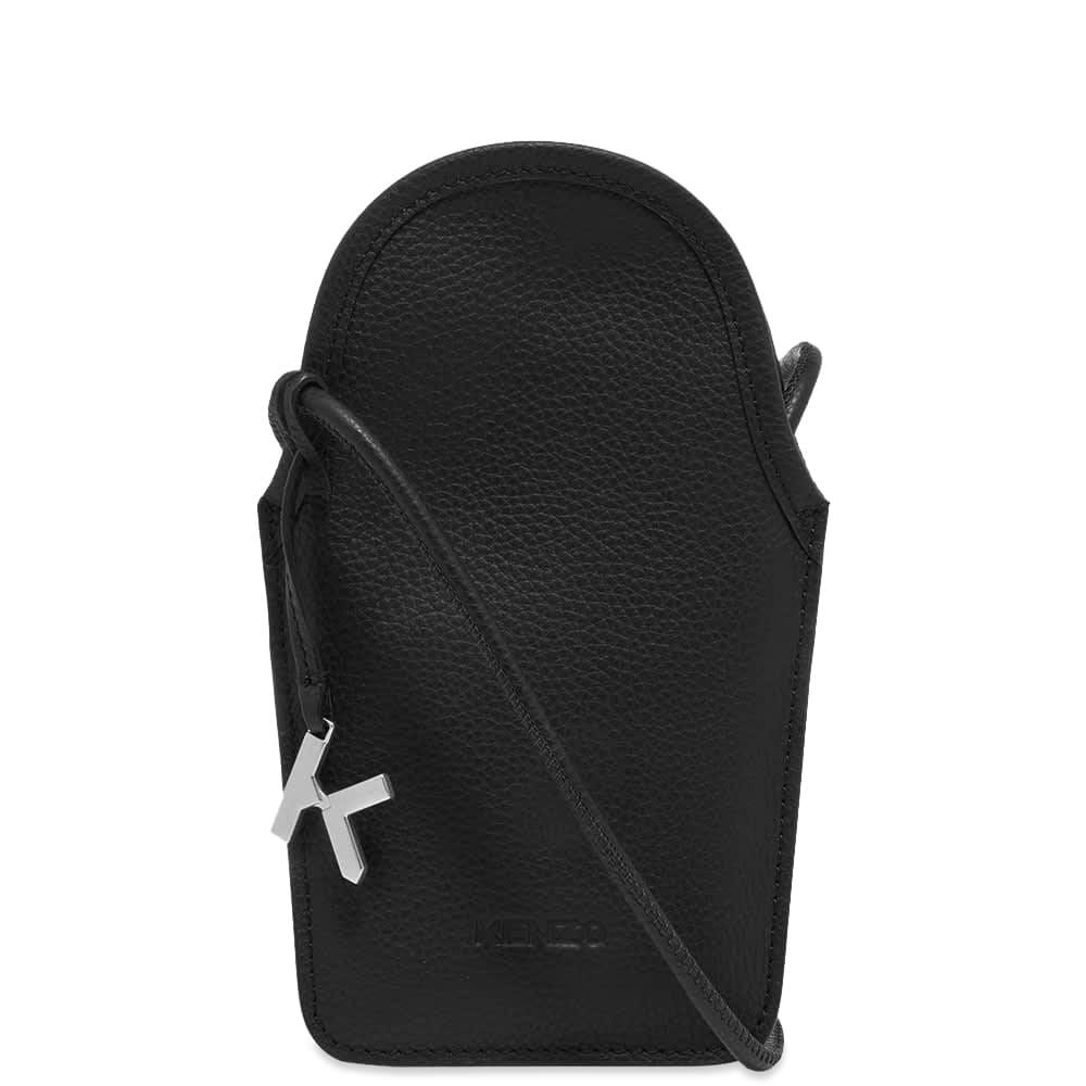 Kenzo Phone Holder On Strap  Black
