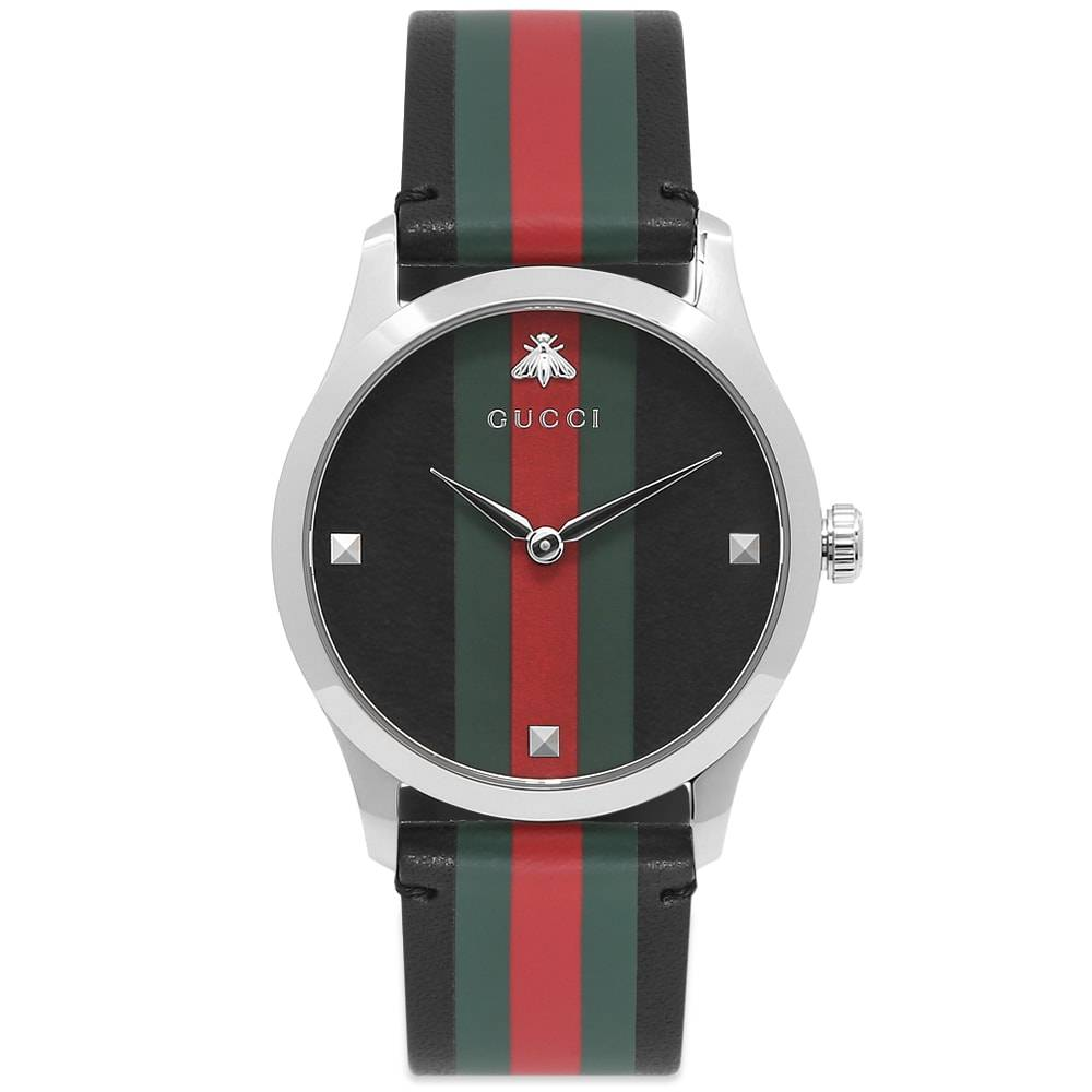Gucci Jewellery Gucci G-Timeless Contemporary Watch  38mm & Nylon Webbing