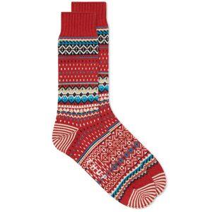Chup Viti Sock  Crimson