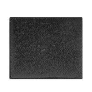 Balenciaga Logo Billfold Wallet  Black & White