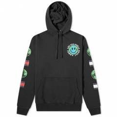 Tommy Jeans Tj Us Luv The World Hoody  Black