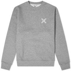 Kenzo Sport X Logo Crew Sweat  Dove Grey