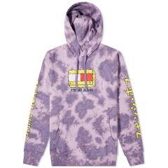 Tommy Jeans Spongebob Tie-Dye Hoody  Tie Dye & Purple Quartz