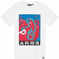 By Parra Eves Garden Tee  White