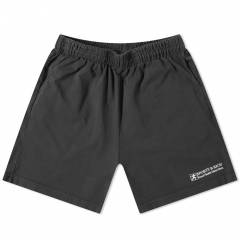 Sporty & Rich Good Health Gym Shorts - END. Exclusive  Faded Black & White